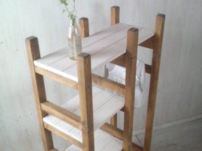 画像3: 無垢材で造る ナチュラルテイスト ラック&ハンガーラック