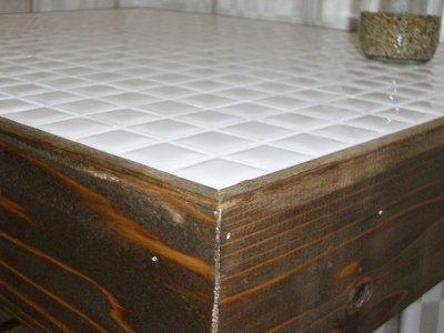 画像3: ナチュラルテイスト タイルトップ サイドテーブル