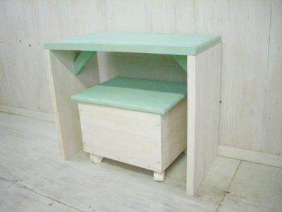 画像1: キッズ デスク (desk&chair)