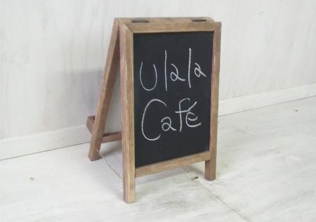 画像1: ままごと用 黒板 看板タイプ (1)