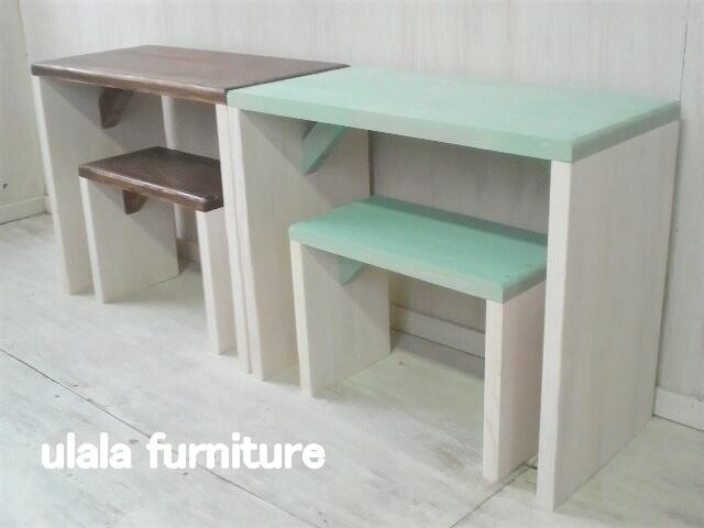 画像1: キッズ デスク (desk&chair)   (1)