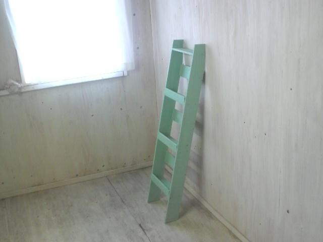 画像1: 無垢ヒノキで造る マガジンラック大 【オスモミント】 セミオーダー品  (1)